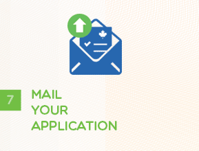 Step 7 - Mail Your Application